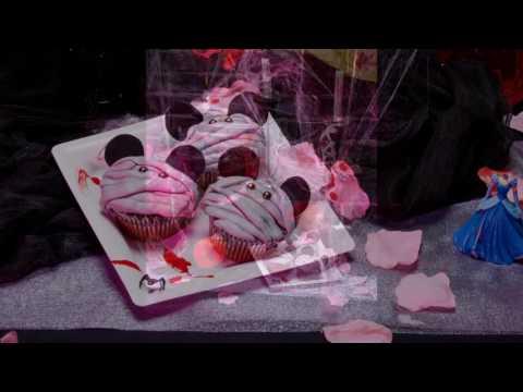 Idea ricetta per cupcakes Mickey in versione  Halloween.