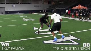 2018 The Opening Finals   WR vs DB 1 on 1's