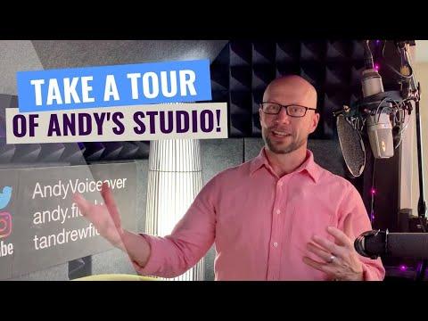 Take a Tour of the Studio!