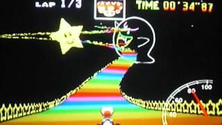 MK64 - former world record on Rainbow Road - 1'57''17 (NTSC: 1'37''45)