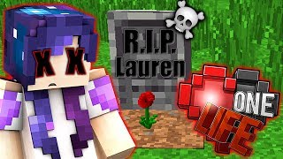 I ACTUALLY DIED Attempting Joel's No Armor Challenge!!   One Life Minecraft SMP FINALE