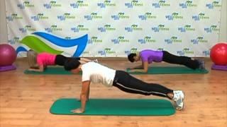 Смотреть онлайн Упражнения бодифлекс на мышцы кора