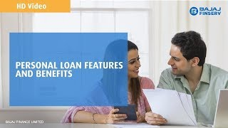 Bajaj Finserv Personal Loan features & benefits | Instant online approval i