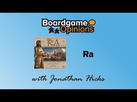 Boardgame Opinions: Ra