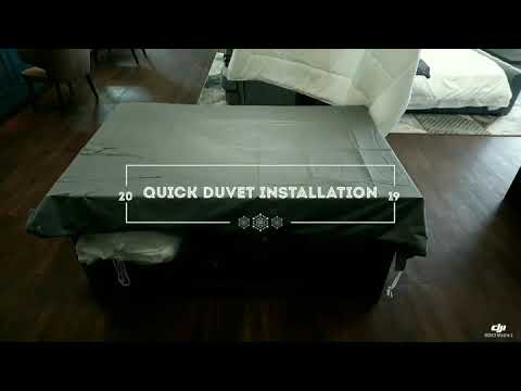 Quick Tips for duvet installation