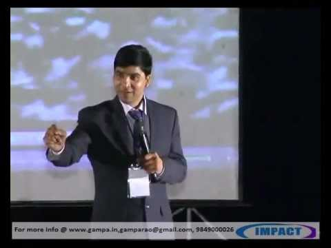 Vision|Venu Bhagawan|TELUGU IMPACT Hyd 2012