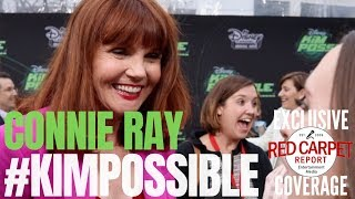 Connie Ray interviewed at #DisneyChannel #KimPossible Movie Premiere, Watch Tonight