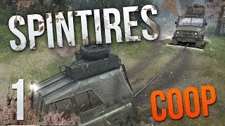 ROLL OUT - SpinTires Multiplayer - Volcano Complete - Part 1 - Coop Gameplay