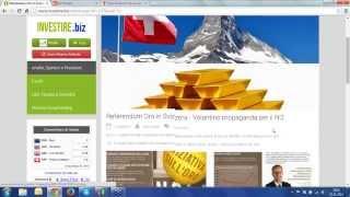 Registrazione Webinar di ieri 10.11.2014 di Investire.biz