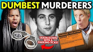 The World's Dumbest Murderers (How They Were Caught) | React