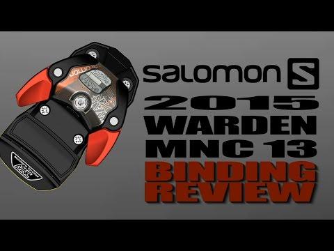 2015 Salomon Warden MNC 13 Ski Binding