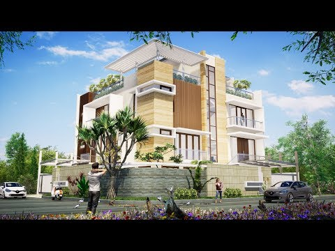 Apartmental building Twin Motion software - смотреть онлайн