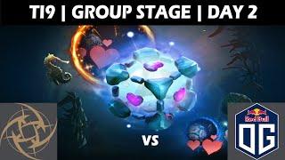 OG VS NIP GAME 1 | OG CANCER PICK ON TI9 | GROUP STAGE DAY 2