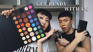 GRWU|GET READY WITH US♡跟我們一起用在美國買的彩妝品化妝|Sephora、CVS、target