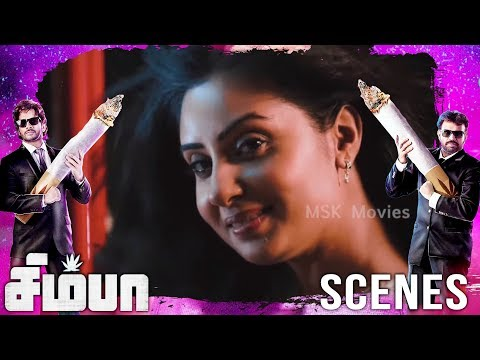 Madhu tells about his husband and divorced | Simba(சிம்பா) Movie Scenes | Bharath, Premgi