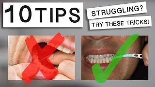 10 Tips: How to Properly Floss Your Molars