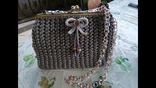 Tutorial Crochet Clic Clac Flower Souzette Point Uncinetto