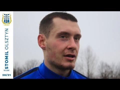Jakub Mosakowski po meczu Pogoń Grodzisk Mazowiecki - Stomil Olsztyn 1:4