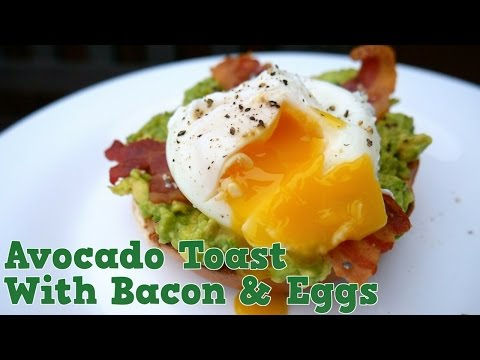Easy Eggs, Avocado & Bacon Brunch Recipe! – Yum It