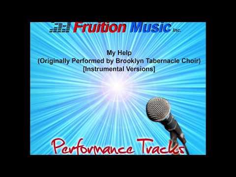 My Help (High Key) [Originally by Brooklyn Tabernacle Choir] [Instrumental Version] SAMPLE
