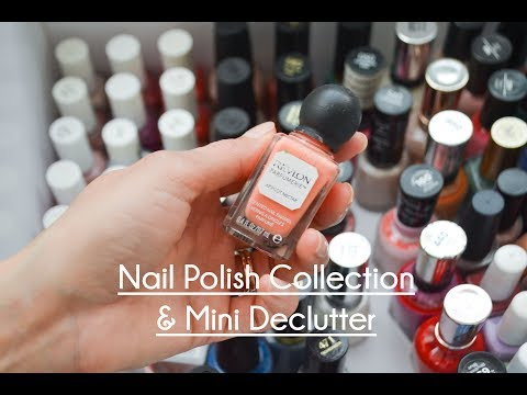 Nail Polish Collection & Mini Declutter