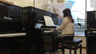 「アシタカとサン  もののけ姫より」 ピアノステーション(神戸、大阪)