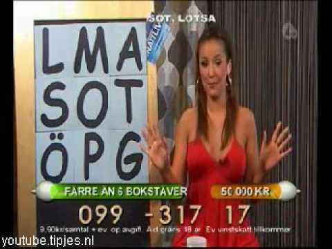 Grappige filmpjes humor kaarten, Crazy Swedish game show sexy late night presenter explained to the contestant on the line funny humor