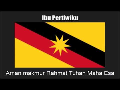 Malaysian State Anthem Of Sarawak (Ibu Pertiwiku) - Nightcore Style With Lyrics Mp3