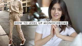 How To Monochrome | Wearing Solid Color Outfits | Dearly Bethany