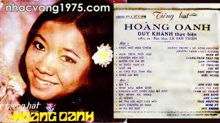 Hoàng Oanh – Lẻ Bóng – Thu Âm Trước 1975