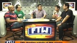 FTW: TNS: Bonding activity of PBA players