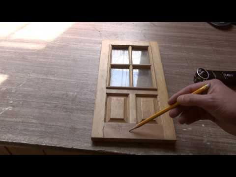 Изготовление деревянных дверей #1