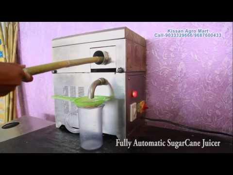 Sugarcane Juicer, sugar crusher, hygenic sugarcane juice maker