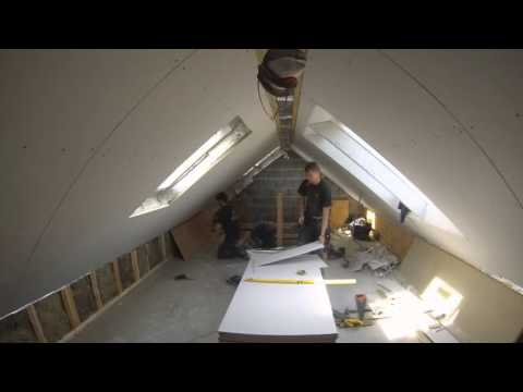 Loft Conversion Timelapse: Tonna/Neath