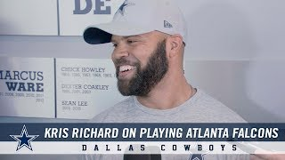 Kris Richard on Facing Atlanta and his Pregame Scrum in Philly | Dallas Cowboys 2018