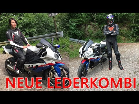 NEUE LEDERKOMBI | BMW S1000RR | #eike