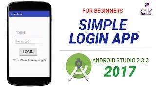 Simple Login App Tutorial Using Android Studio 2.3.3 (NEW)