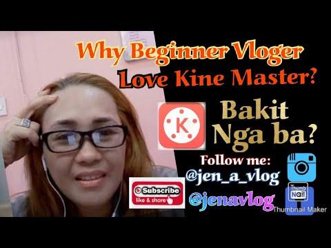 Why Beginner Vlogger LOVE KineMaster!? (tagalog) #KineMaster for beginners