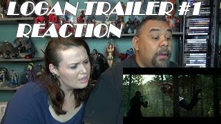 LOGAN TRAILER #1 REACTION