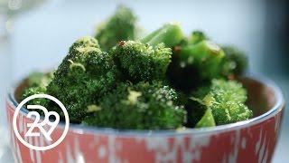 Tia Mowry's Broccoli Saute Makes The Case For Veggies | #GimmeFive | Refinery29