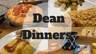 What's For Dinner || DEAN DINNERS || #WeeklyMeals
