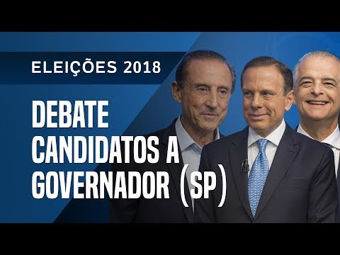 DEBATE DOS CANDIDATOS A GOVERNADOR DE SÃO PAULO