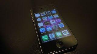 КЛЕЮ СТЕКЛО НА iPhone 4S