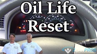 Oil Life Reset Toyota Camry 2007-2011