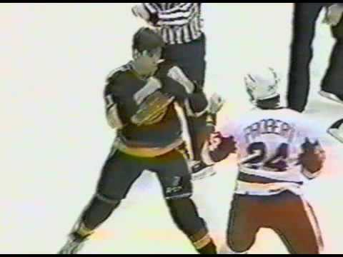 Bob Probert vs. Craig Coxe