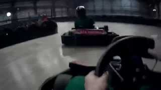 preview picture of video 'SJ1000 - Go Karting GTX Wrexham April 2014'