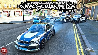 Forza Horizon 4: NFS MOST WANTED (Cop Chase Game) M3 GTR RUNNER!!