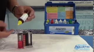 Taylor Test Kit K-2006: Free and Combined Chlorine Test