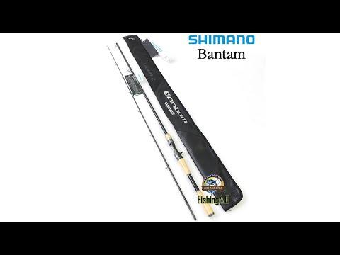 Cần Câu lure máy ngang Shimano Bantam 170M 170MH - made in indonesia