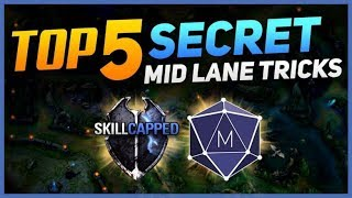 Top 5 SECRET Challenger Tricks to CARRY in Mid Lane! | Skill Capped x Mobalytics